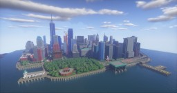 Liberty City (New York City) Minecraft Map & Project