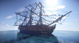 HMS Victory 1.5:1 Scale Ship Minecraft