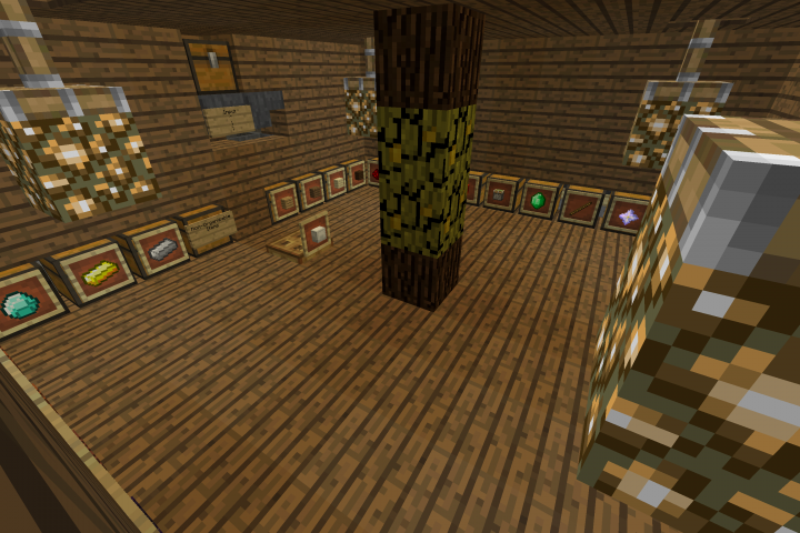 New Storage Area