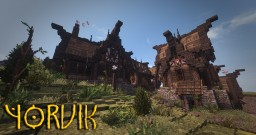 Yorvik - Viking village - Conquest Reforged Minecraft
