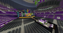 WWE WrestleMania 34 (Official Stage) Minecraft Map & Project