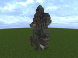 Large Dwarven Statue #WeAreConquest #ArdaCraft Minecraft Map & Project
