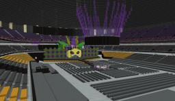Mercedes-Benz Superdome Wrestlemania 34 Minecraft Map & Project