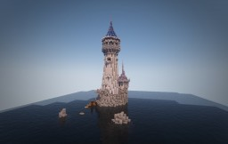 Tower of the Lonely Wizard. Poof! Minecraft Map & Project