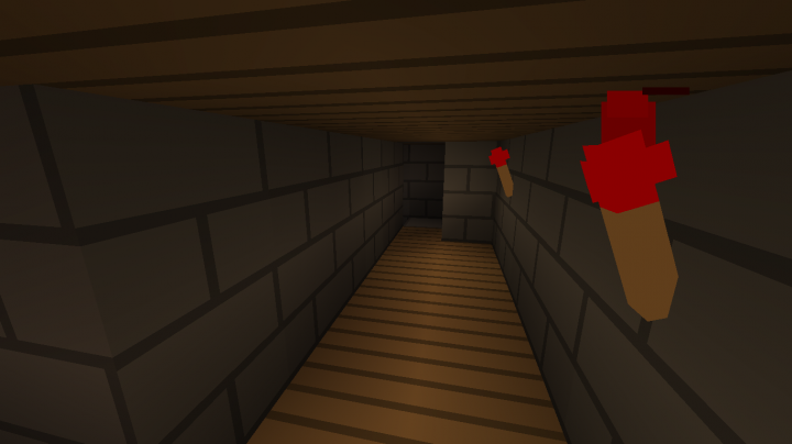 One of the 4 secret rooms or passageways