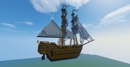 Pirate Ship - Jackdaw inspired (Assassin's Creed IV Black Flag) Minecraft Map & Project