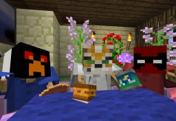 Video, Party at the Pie shop Minecraft Map & Project