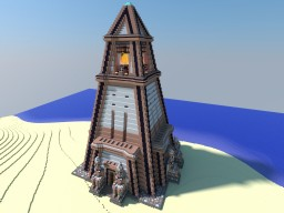 Pharaoh's Lighthouse Minecraft Map & Project