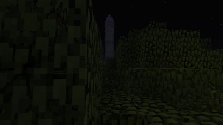 Telecom Tower at night