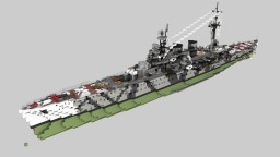 Italian Cruiser Duca Degli Abruzzi 1:1 Minecraft Map & Project