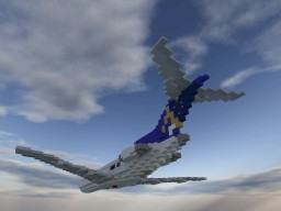 Boeing 727 | 1.5:1 scale | + Download Minecraft