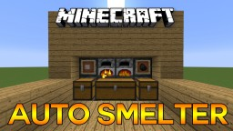 Super Smelter! Minecraft Map & Project