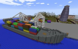 Seaport and Airport Minecraft Map & Project