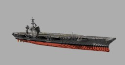 USS Theodore Roosevelt (CVN-71) 1:1 scale Minecraft Map & Project