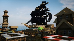 Cyan Valley - on water village Minecraft Map & Project