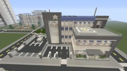 Lazuli City Police Department Minecraft Map & Project