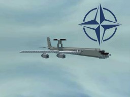 E-3 Sentry (AWACS) Minecraft Map & Project