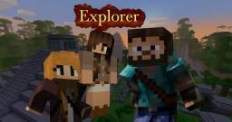 Explorer: A Minecraft Adventure Map Minecraft Map & Project