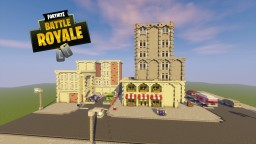 Fortnite Battle Royale Tilted Towers Minecraft