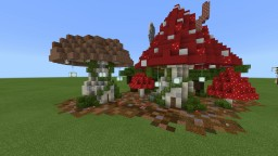 Red &Brown Mushroom House Minecraft Map & Project