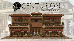 Ancient Roman Inspired Insula #WeAreConquest #ArdaCraft Minecraft Map & Project