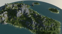 The lost Worlds --Island Contest-- (1k x 1k) Minecraft Map & Project