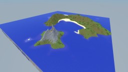 Skyblock based island - Lost Island Terraforming Contest Minecraft Map & Project