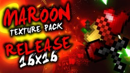 Maroon 16x PvP/UHC Pack Release! Minecraft Texture Pack
