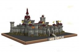 Middle age Castle Minecraft Map & Project