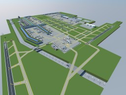 My Frankfurt Aiport Download Minecraft Map & Project