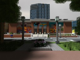 Portland Art Museum | PortlandMC Minecraft Map & Project