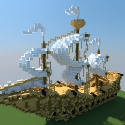Medieval Pirate Ship Minecraft Map & Project