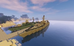 Missile Boat Minecraft Map & Project
