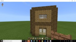 Nice Log Cabin Minecraft Map & Project