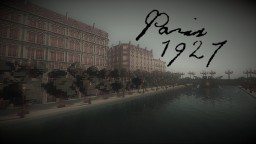 1920s Paris Minecraft Map & Project