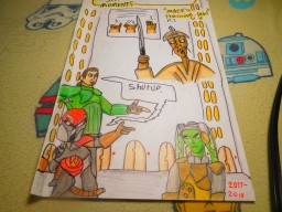 A new homemade comic book (cover of it) Minecraft Blog Post