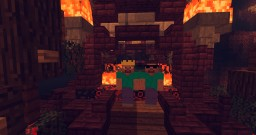 Our first nether hub/spawn Minecraft Map & Project