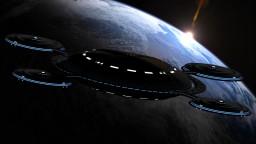 (WIP) 2km Star Trek Style Space-dock |Kelvin Timeline| + [Download] Minecraft