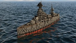 BB-35 USS Texas Minecraft