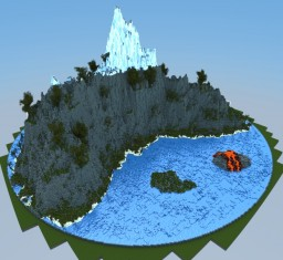 The island of sanctificate Minecraft Map & Project