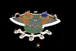 Dragon Ball Xenoverse -  Toki Toki City Hub Minecraft Map & Project