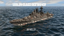 Udaloy I class Russian destroyer [1:1 scale] Minecraft