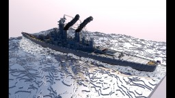 USS Missouri Minecraft Map & Project