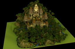 Temple Natura Minecraft Map & Project