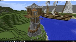 Elders LightHouse Minecraft Map & Project