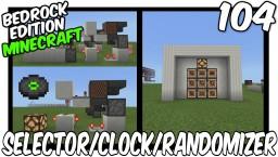 Jukebox Disc Selector, Clock & Randomizer (The Klautos Device) Bedrock Edition Minecraft Map & Project