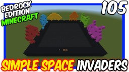 Simple Space Invaders Minecraft Map & Project