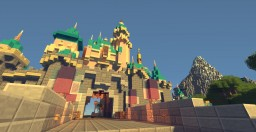 Disneyland Build Project Minecraft Map & Project