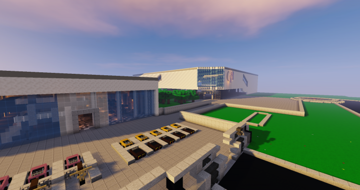 New Avengers Facility Minecraft Project