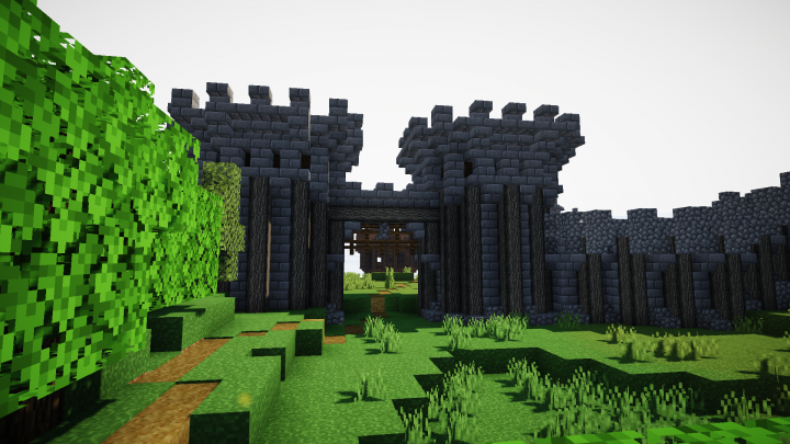 Gates of Gionera, the Italian-styled town